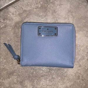 Baby Blue Kate Spade Small Wallet